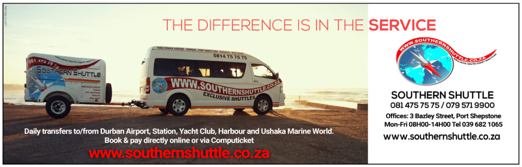 durban to margate shuttle
